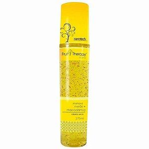 Shampoo Melão e Macadâmia Fruit Therapy Nano 275ml Cabelo Seco ou Ressecado