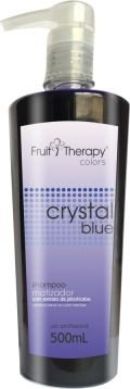 Shampoo Matizador Crystal Blue Fruit Therapy Colors 500 ml
