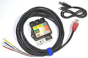 Kit - Contador de voltas USB óptico / modular