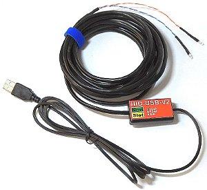 Contador de voltas USB sem comando