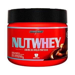 Nutwhey Creme de Avelã Proteico (200g) Intergalmédica