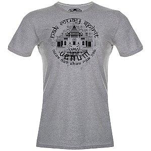 Camiseta Venum Temple - CINZA