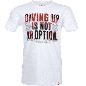 Camiseta  Venum Theory - BRANCA