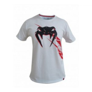 Camiseta Venum Exploding - Branco