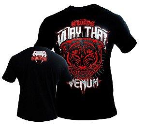 Camiseta Venum Tiger King - PRETA