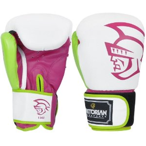 Luva de Boxe Pretorian Trainning - ROSA