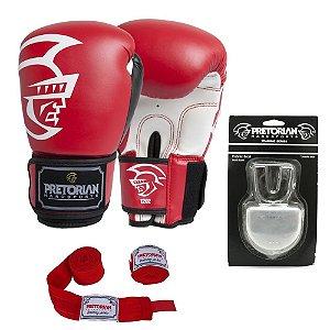 Kit Boxe e Muay Thai Pretorian - VERMELHO
