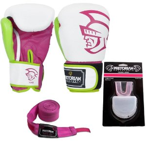 Kit Boxe e Muay Thai Pretorian - ROSA