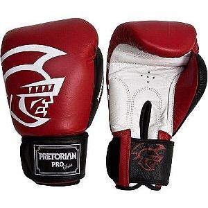 Luva de Boxe Pretorian Pro Series - VERMELHA