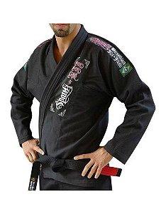 Kimono Spank Jiu Jitsu Light Preto +