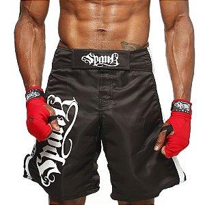 Bermuda MMA Spank - PRETA