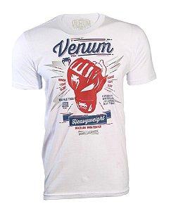 Camiseta Venum Pedro Rizzo - BRANCO