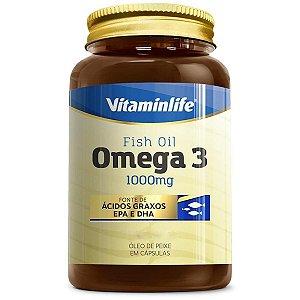 Ômega 3 1000mg (120 softgels) Vitaminlife