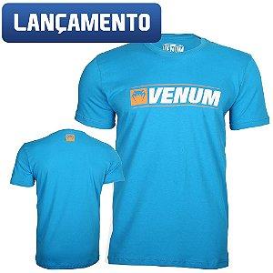 Camiseta Venum Logo Line - AZUL