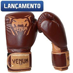 Luva de Boxe Venum New Contender - Marrom