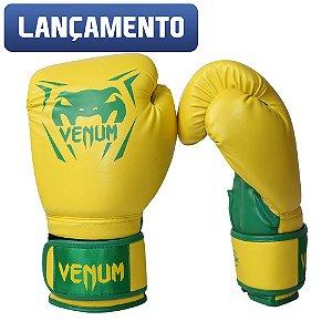 Luva Venum New Contender - AMARELO