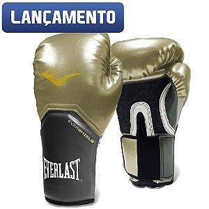 Luva de Boxe Pro Style Everlast - Dourada