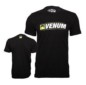 Camiseta Venum Logo Line - PRETO