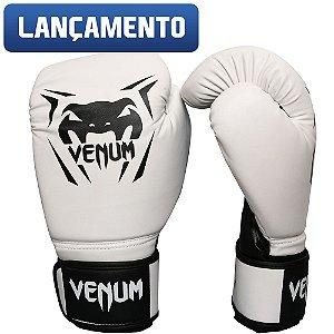 Luva de Boxe Venum New Contender - BRANCA