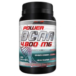 Power BCAA 4.800mg (120 caps) - New Millen