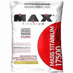 Mass Titanium 17500 (1,4kg)  Max Titanium