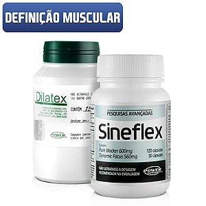 Combo Definição Muscular Sineflex + Dilatex - Power Supplements