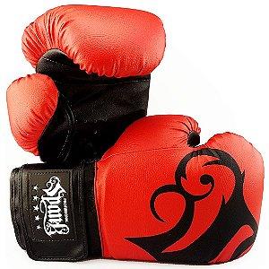 Luva de Boxe Spank Pro - VERMELHA