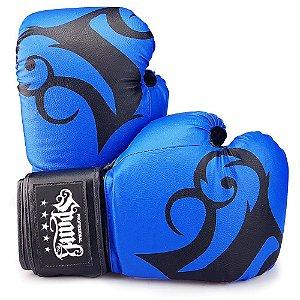 Luva de Boxe Spank Pro - AZUL
