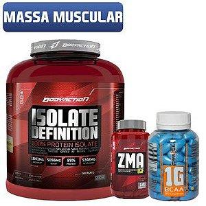 Combo Ganho de Massa Muscular Body Action