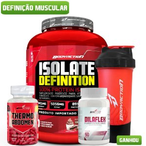 Combo Definição Muscular Body Action