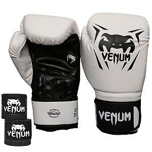 Kit Boxe Venum New Contender - BRANCO