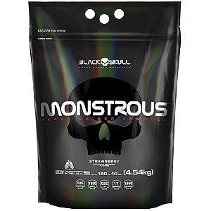 Monstrous (4,5kg) Black Skull