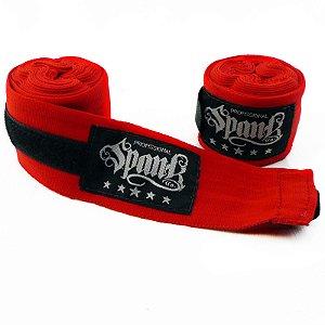 Bandagem de Boxe Profissional Spank (3m) Vermelha