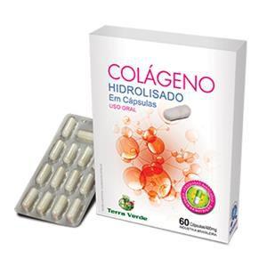 Colágeno Hidrolisado (60 caps) Terra Verde