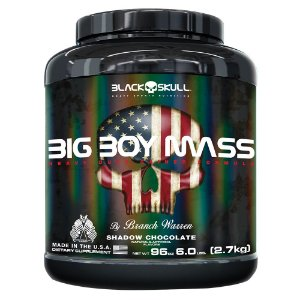 Big Boy Mass (2,7kg) Black Skull