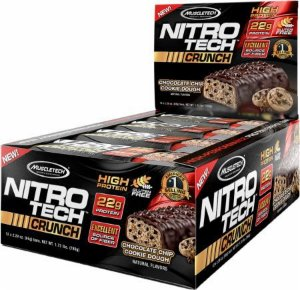 Nitro Tech Crunch (12 barras) Muscle Tech