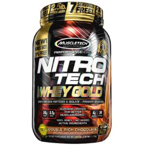 Nitro Tech 100% Whey Gold (1,13kg)  MuscleTech