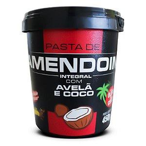Pasta de Amendoim Avelã e Coco (480g) Mandubim