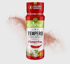 Tempero Pimenta Zero Sódio (50g) SS Natural