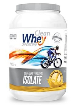 Clean Whey Isolado Sporting (900g)  Glanbia