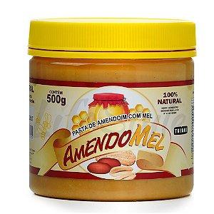 Pasta De Amendoim com Mel (500g) Thiani