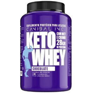 Keto Whey (900g) Canibal Inc.
