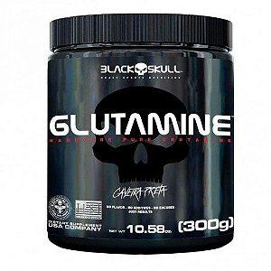 Glutamina Caveira Preta (300g) Black Skull