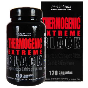 THERMOGENIC EXTREME BLACK (120 CÁPS) Probiótica