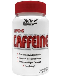 Lipo 6 Caffeine (60 cápsulas) Nutrex