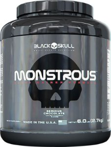 Monstrous (2,7kg) Black Skull