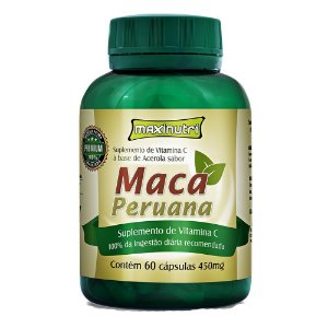 Maca Peruana (60 cápsulas) MaxxiNutri