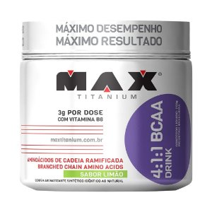 BCAA 4:1:1 Drink (280g) Max Titanium