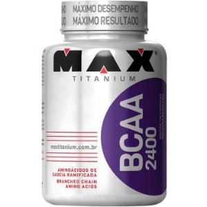 BCAA 2400 (100 cápsulas) Max Titanium