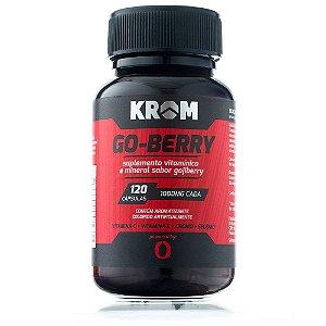 Go-Berry (120 cápsulas) Krom Suplementos